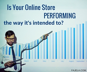 are you content with your online store performance?