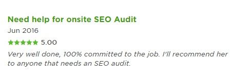 review on technical seo audit
