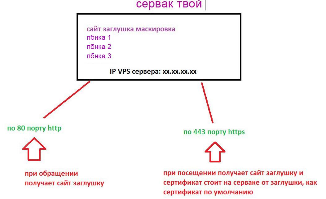 как сетапить сервер под pbn