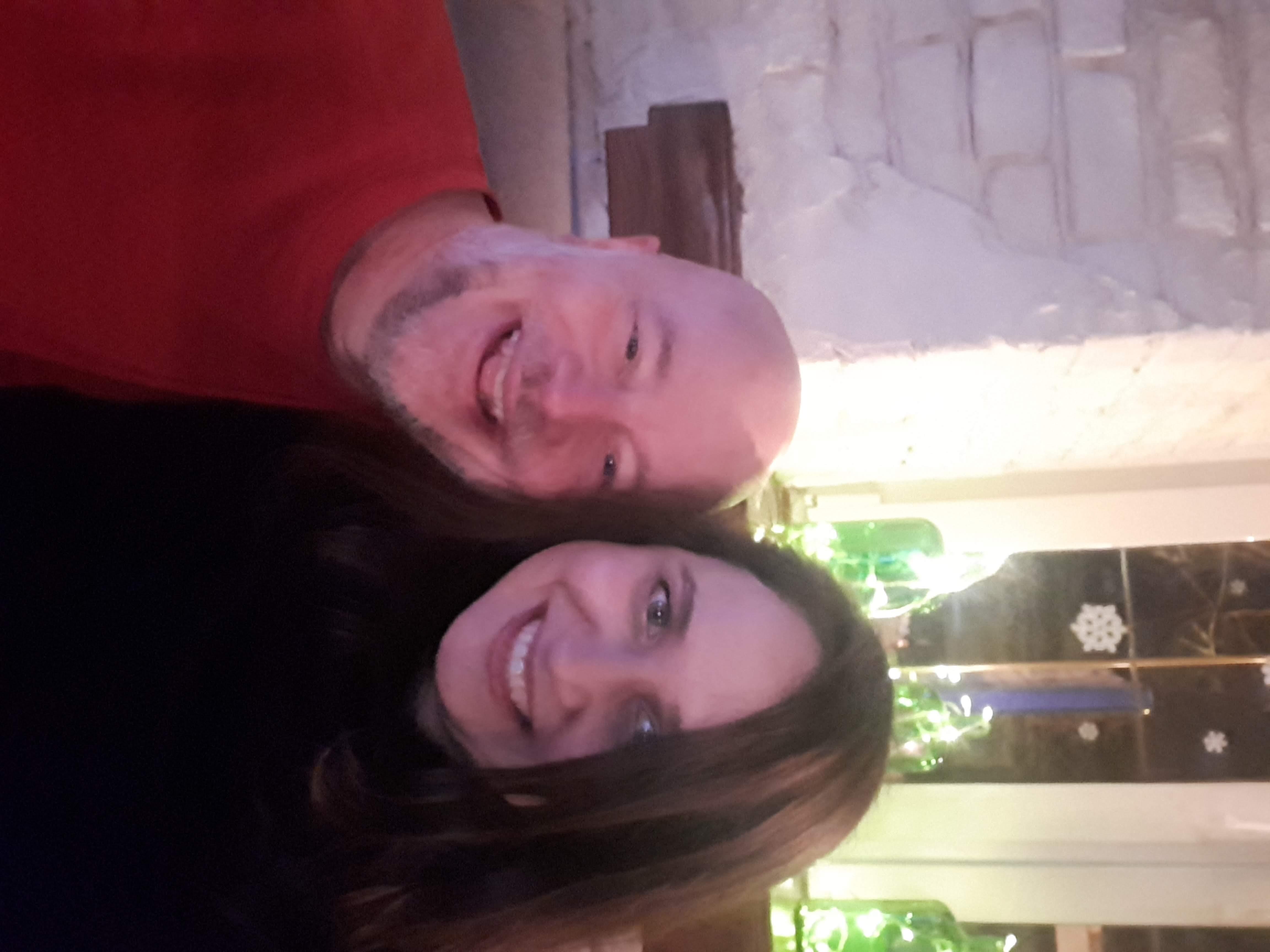 Jason Barnard and Olesia Korobka meeting in Kyiv