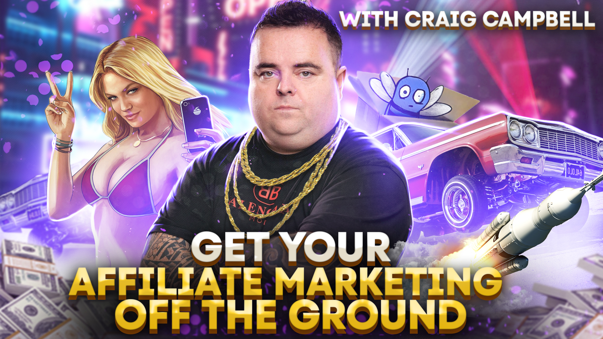 Get your affiliate marketing off the ground with Craig Campbell